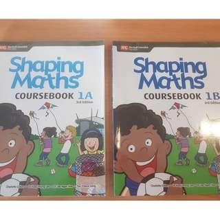Shaping Math 1A & 1B 3rd Ed.