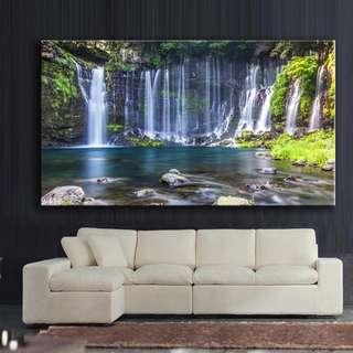 Shiraito Waterfalls Canvas Print