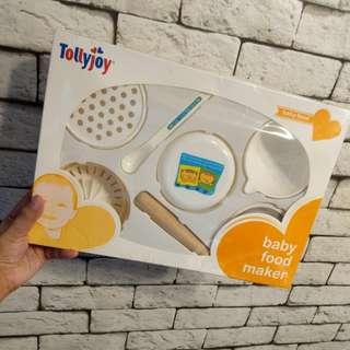 (FREE) Tollyjoy Baby Food Maker