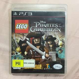 PlayStation 3 Lego Pirates Of The Caribbean