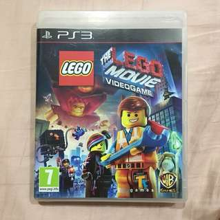 PlayStation 3 The Lego Movie videogame