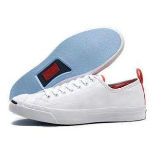 Converse jack purcell white blue