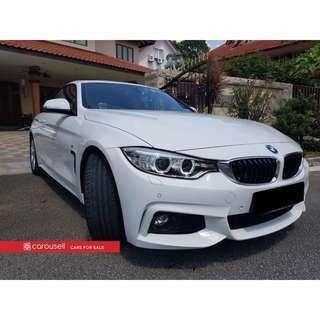 BMW 4 Series 430i Convertible M-Sport
