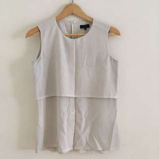 Zalora Sleeveless Top
