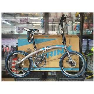 """Trinx Dolphin 2.0 Folding Bike 20"""" Trinx Bike Bicycle"""