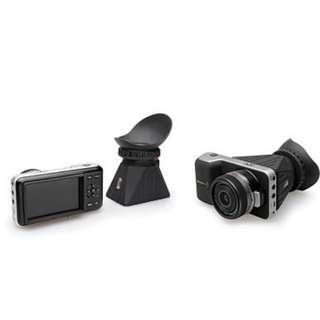Blackmagic Pocket Cinema Camera (body only) with Zacuto Z-finder 2X