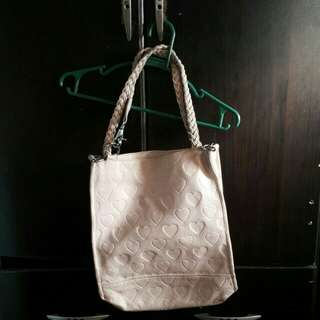 Repriced: Leather bag