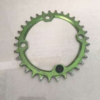 Motsuv narrow wide chainring