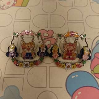 Duffy Shelliemay 迪士尼徽章 disney pins