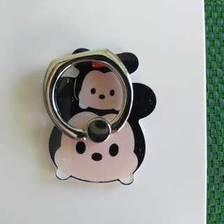 Tsum Tsum Mickey Minnie 米奇米妮  Ring Holder 支架 介子手機座 可遁還再用