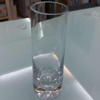 Heavy Glass Crystal Vase ( medium )