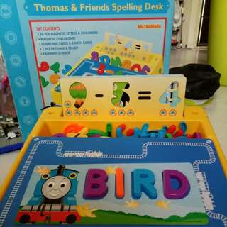 Thomas And Friends Spelling Desk with Board