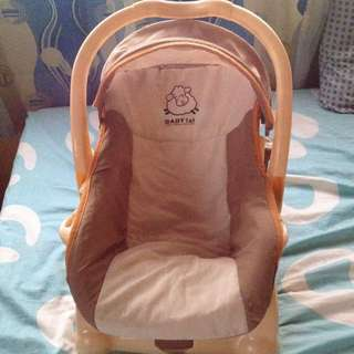 Baby 1st carrier with rocking
