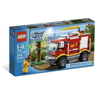 全新Lego 4208 Fire truck