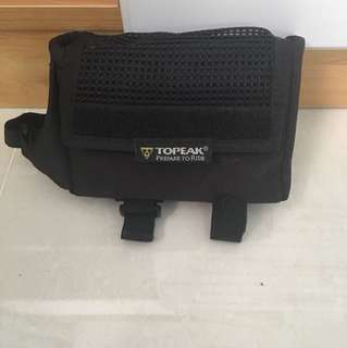 Topeak top tube and saddle bag