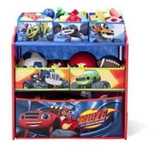 Multi-Bin Toy Organizer, Nick Jr. Blaze