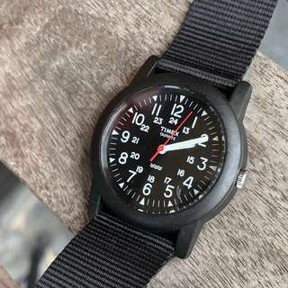 Timed military watch