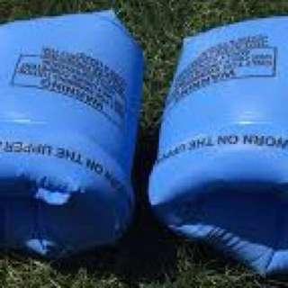 Inflatable kids swim arm float