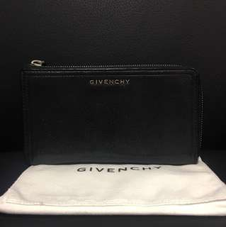 Givenchy Pandora Half Zip Long Wallet