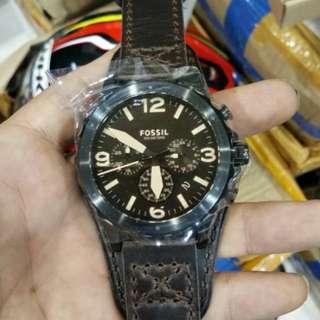 Jam tangan Fossil pria jr1511 warna coklat