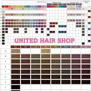 網上優惠價 淨染膏一支Shiseido Primience color 日本資生堂染髮 united hair shop