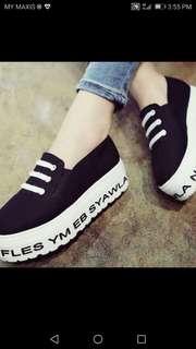 Korea fashion shoes --Size 39#50%Off( U.P.Rm70)