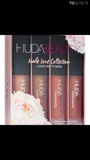 HUDA Beauty 4 in 1 Mini Lipstick set