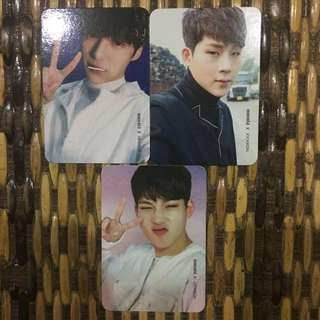 Monsta X Official Photocards