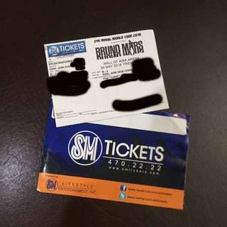 Bruno Mars 24K Magic World Tour (free shipping!)