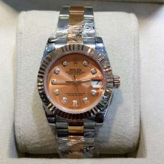 Jam tangan Rolex datejust lady 31mm rosegold