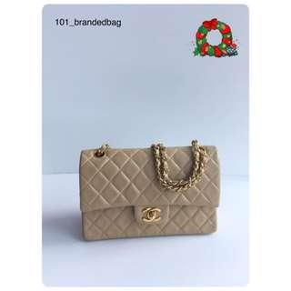 Chanel Vintage Lambskin 23cm Small Flap Bag