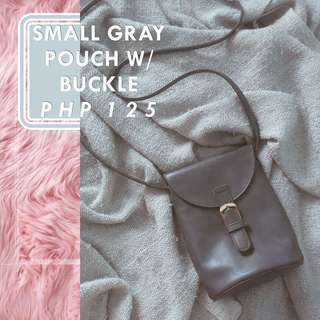 Small Gray Pouch