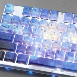 104 Keys Galaxy PBT Keycap Set
