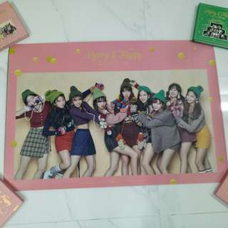Sale !! Official twice merry and happy posters instock