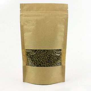 Ziplock brown paperbag