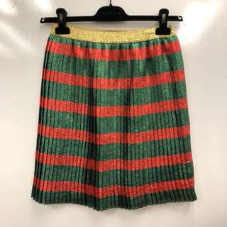 Gucci christmas colors skirt size 12