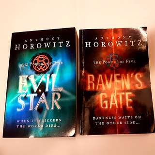 Anthony Horowitz- The Power of Five Series (Evil Star)