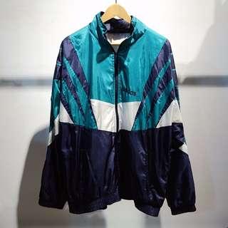 Fresh Loots / 日本古著 Adidas 運動外套 Vintage 翡翠綠