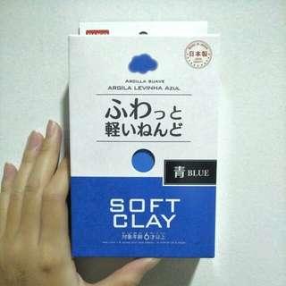 Daiso Soft Clay BLUE