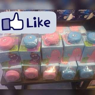 🚚 現貨⭐️BARBAPAPA 聯名款 衛生棉+小拉鍊盒組 16片裝/25cm
