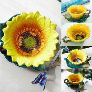 SUNFLOWER COLLECTIBLE TEA/COFFEE CUP