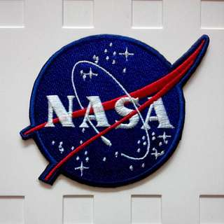 Nasa Logo Space Explorer Astronaut Iron On Patch