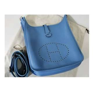 Authentic Hermes Evelyne PM