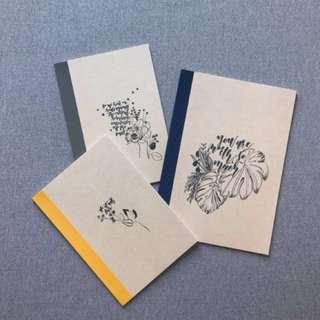 customisable/customised notebooks