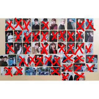 [Incoming Instock] Monsta X The Code Photocards