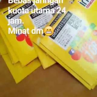 Kartu Indosat 7GB freeong jabodetabek!!!!