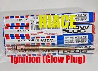 HIACE ignition coil  (Glow Plug) I promise I will bring in HIACE