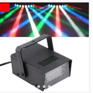 Mini 24 LED Strobe Disco DJ Flash Lamp Club Stage Lighting Bulb Party Bar white colour only