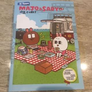 Majo and sandy k-toon novel comic lifestyle buku