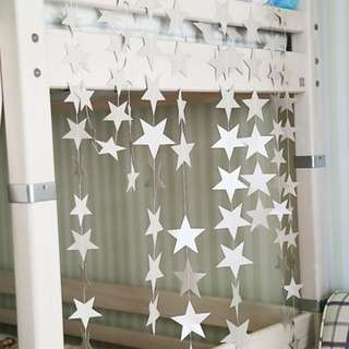 Fantasy Star Garland Wall Hanger